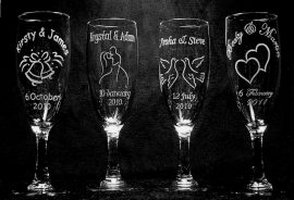 Egyedi gravírozott poharak