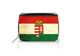 Magyar címeres pénztárca