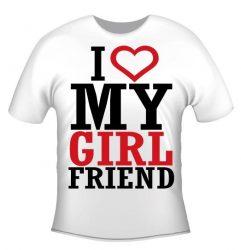 Póló - I love my girlfriend