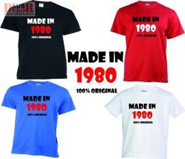 Made in....   születésnapi póló