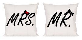 Mr & Mrs párna szett