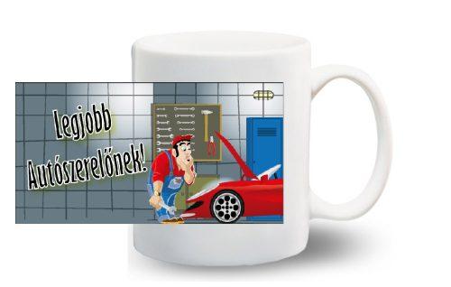Bögre - A legjobb autószerelő