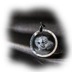 Egyedi, fényképes Swarovski medálok