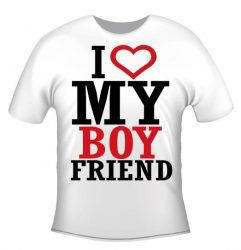 Póló - I love my boyfriend