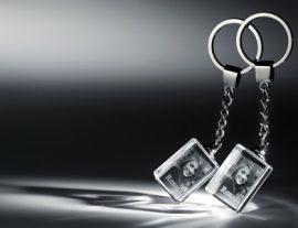 Üveg - Kulcstartó