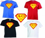 Vicces póló - Szülinapi szuperhős