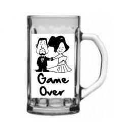 Vicces ajándék Korsó - Game Over