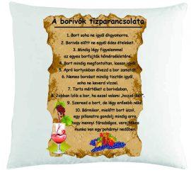 Párna-Borivók 10 parancsolata