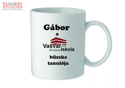 Bögre Vasvár tanuló