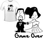 Póló - Game Over