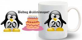 Boldog születésnapot Bögre