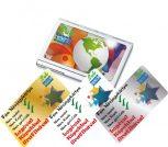 Névjegykártyatartó és névjegykártya készítése