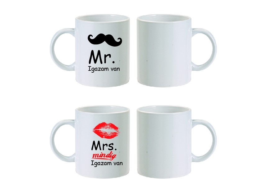 Mr&Mrs bögre-Igazam van